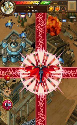 iPhone、iPad 或 iPod 版Strikers 1945: World war游戏截图。