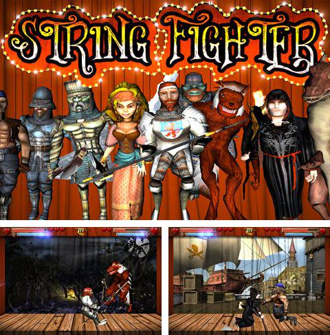 Download String fighter iPhone free game.