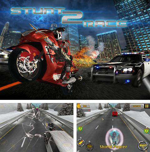 Download Stunt 2: Race iPhone free game.