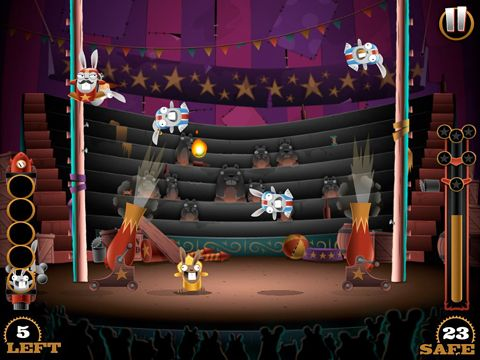 Descarga gratuita de Stunt bunnies: Circus para iPhone, iPad y iPod.