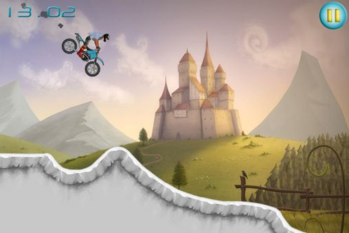 Capturas de pantalla del juego Stunt moto experiments para iPhone, iPad o iPod.