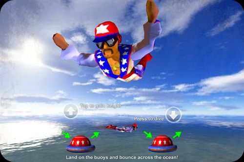 Download Stuntman: The human torpedo! iPhone free game.