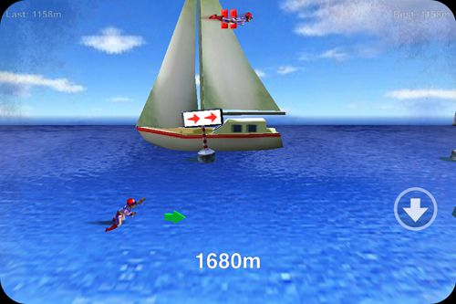 Screenshots of the Stuntman: The human torpedo! game for iPhone, iPad or iPod.