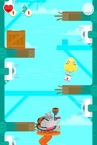 Capturas de pantalla del juego Stupid pigeon 3: Splash para iPhone, iPad o iPod.