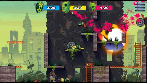 Screenshots of the Stupid zombies 3 game for iPhone, iPad or iPod.