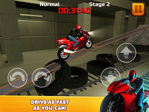 Download Subway moto escape iPhone free game.