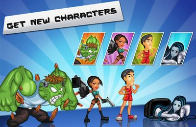 Download Subway Rushers iPhone free game.