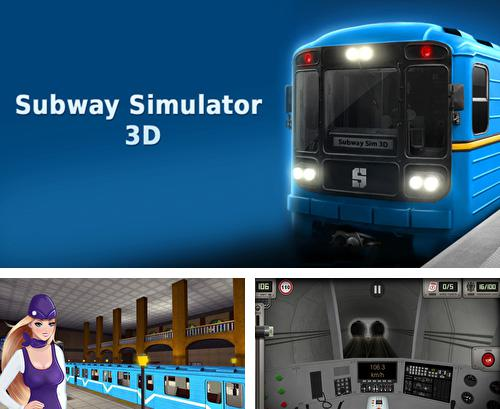 除了 iPhone、iPad 或 iPod 游戏,您还可以免费下载Subway simulator 3D: Deluxe, 。
