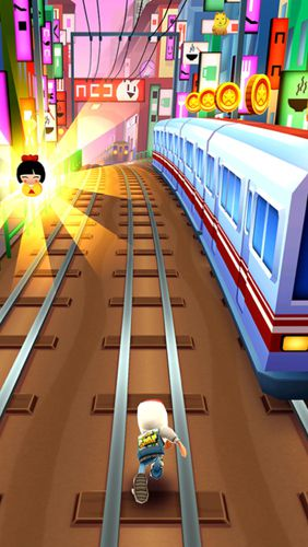 Скачать Subway surfers: Tokio на iPhone бесплатно