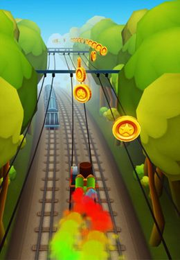 Capturas de pantalla del juego Subway Surfers para iPhone, iPad o iPod.
