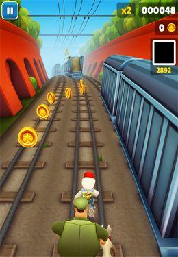 Геймплей Subway Surfers для Айпад.