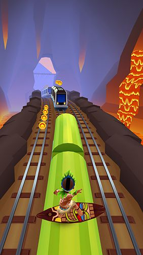 Download Subway surfers: Hawaii iPhone free game.
