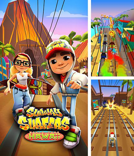 En plus du jeu Tireur fou  pour iPhone, iPad ou iPod, vous pouvez aussi télécharger gratuitement Surfeurs de tunnel: Hawaï , Subway surfers: Hawaii.