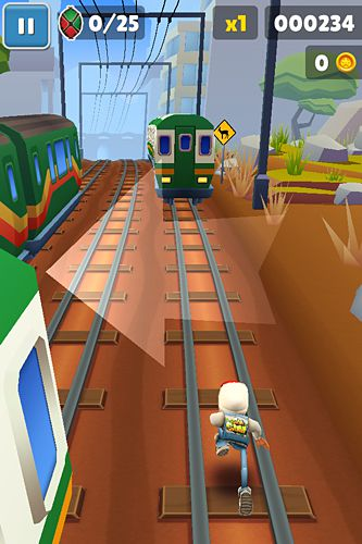 Free Subway surfers: Kenya download for iPhone, iPad and iPod.
