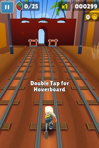 Игра Subway surfers: Kenya для iPhone