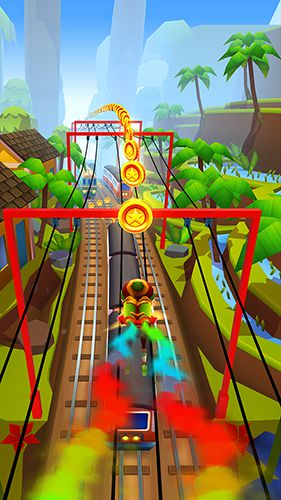 Download Subway Surfers: Madagascar iPhone free game.