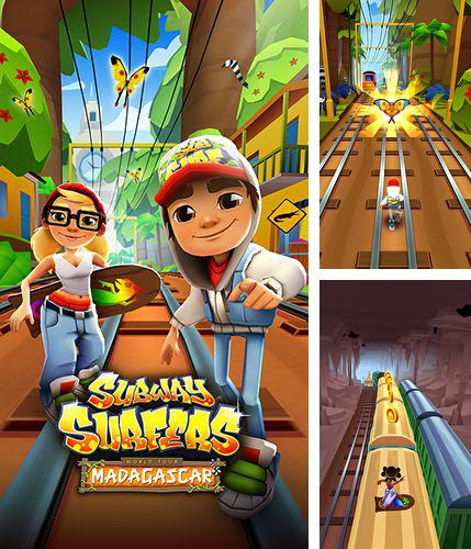 In addition to the game Agar.io for iPhone, iPad or iPod, you can also download Subway Surfers: Madagascar for free.