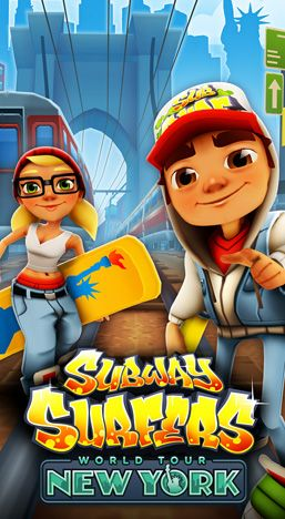 Subway surfers: New-York