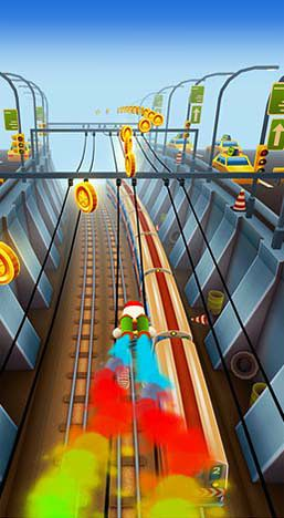 Kostenloses iPhone-Game Subway Surfers: New-York herunterladen.