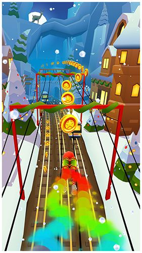 Скачать Subway Surfers: North pole на iPhone бесплатно