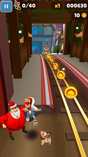 Скачать игру Subway Surfers: North pole для iPad.