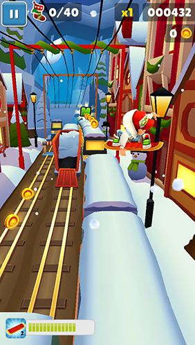 Игра Subway Surfers: North pole для iPhone