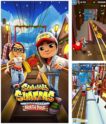 In addition to the game Cubix challenge for iPhone, iPad or iPod, you can also download Subway Surfers: North pole for free.