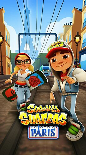 Subway surfers: Paris