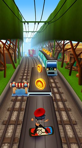 Free Subway surfers: Paris download for iPhone, iPad and iPod.