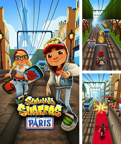 In addition to the game SpongeBob Marbles & Slides for iPhone, iPad or iPod, you can also download Subway surfers: Paris for free.