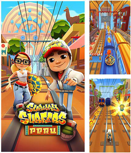 In addition to the game Run, sausage, run! for iPhone, iPad or iPod, you can also download Subway surfers: Peru for free.