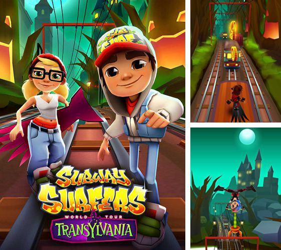 In addition to the game Pou for iPhone, iPad or iPod, you can also download Subway surfers: Transylvania for free.