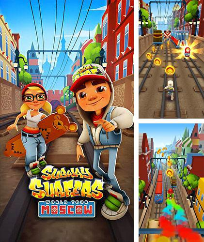 In addition to the game SandMans ATK for iPhone, iPad or iPod, you can also download Subway surfers: World tour Moscow for free.