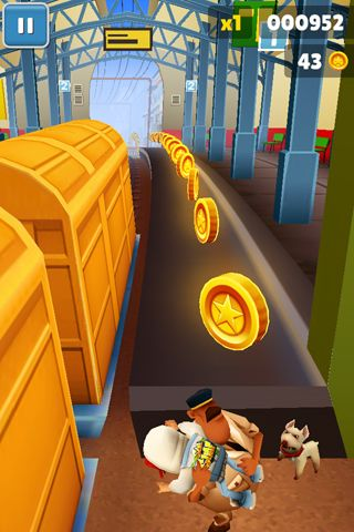 Игра Subway surfers: World tour Mumbai для iPhone