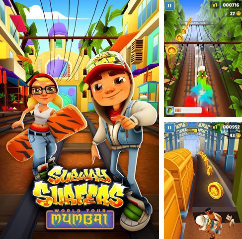 En plus du jeu Chaussette perdue: Frères polissons pour iPhone, iPad ou iPod, vous pouvez aussi télécharger gratuitement Les Surfers de tunnels: le tour du monde Mumbaï, Subway surfers: World tour Mumbai.