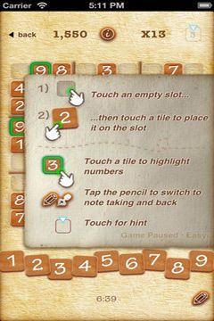 Free Sudoku + download for iPhone, iPad and iPod.