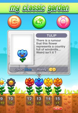 Screenshots of the SunFlowers game for iPhone, iPad or iPod.