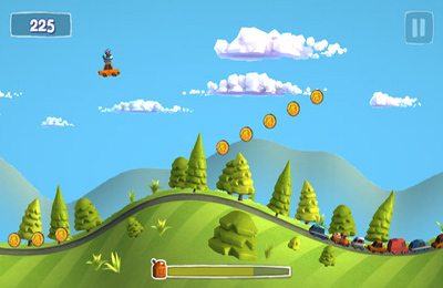 Download Sunny Hillride iPhone free game.