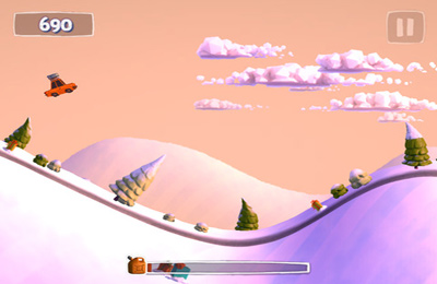 Free Sunny Hillride download for iPhone, iPad and iPod.