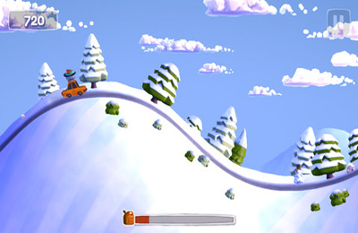 Screenshots do jogo Sunny Hillride para iPhone, iPad ou iPod.