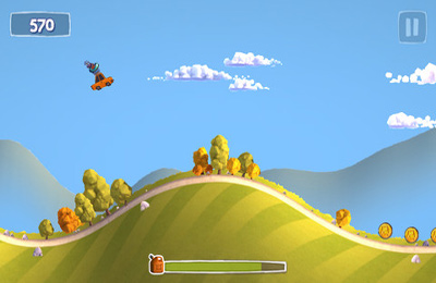 Screenshots of the Sunny Hillride game for iPhone, iPad or iPod.
