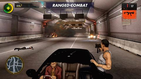 Download Sunset gangsters iPhone free game.