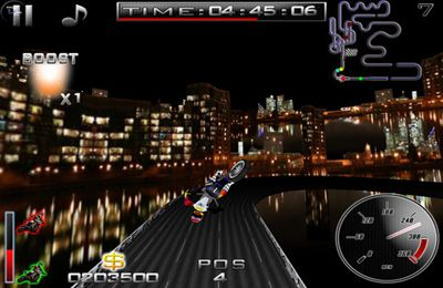 Screenshots of the Super Bikers game for iPhone, iPad or iPod.