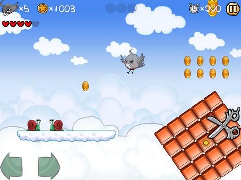 Download Super bird adventure iPhone free game.