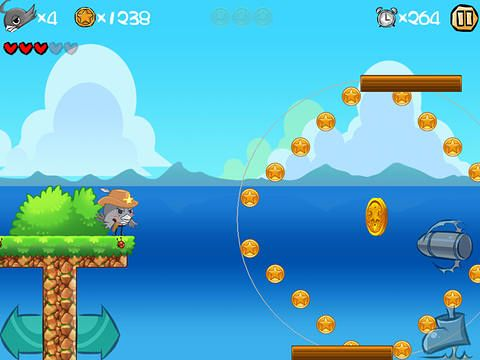Screenshots of the Super bird adventure game for iPhone, iPad or iPod.