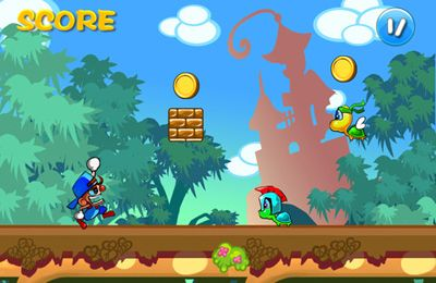 Descarga gratuita de Super Boy Rush para iPhone, iPad y iPod.