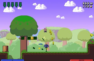 Screenshots do jogo Super Bunny Land para iPhone, iPad ou iPod.