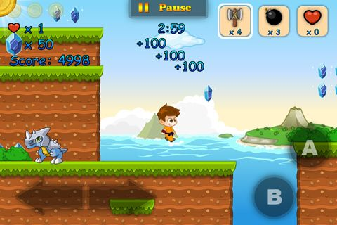Screenshots of the Super coins world: Dream island game for iPhone, iPad or iPod.
