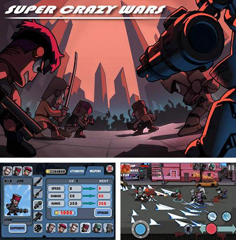In addition to the game Super crazy wars for iPad Pro, you can download Super crazy wars for iPhone, iPad, iPod for free.