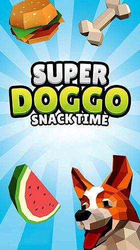 Super doggo snack time